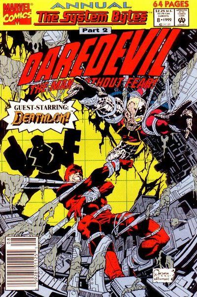 Couverture de Daredevil (1964) -AN08- The System Bytes part 2