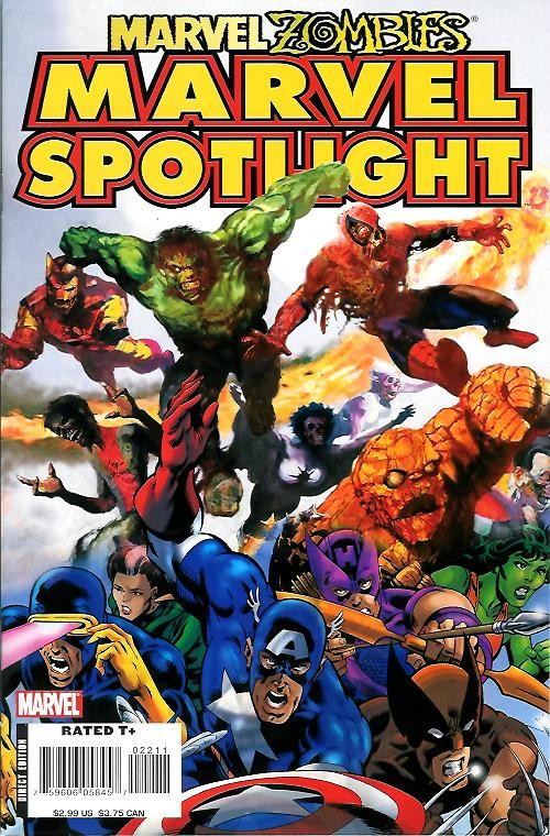 Couverture de Marvel Spotlight: Marvel Zombies (2007) - Marvel Spotlight: Marvel Zombies