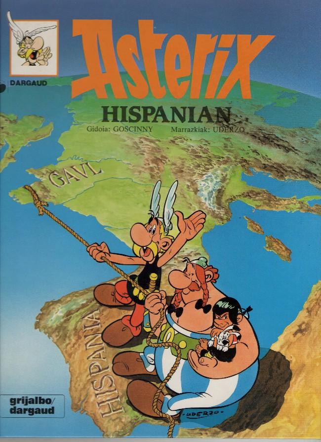Couverture de Astérix (en langues étrangères) -14Basque- Asterix Hispanian