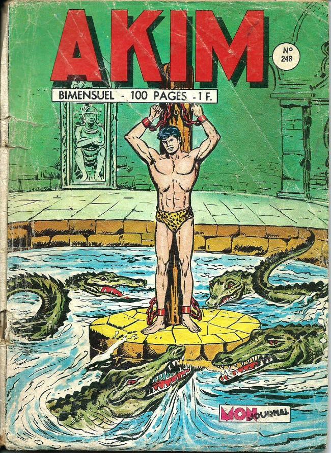 Couverture de Akim (1re série) -248- La fabuleuse rançon