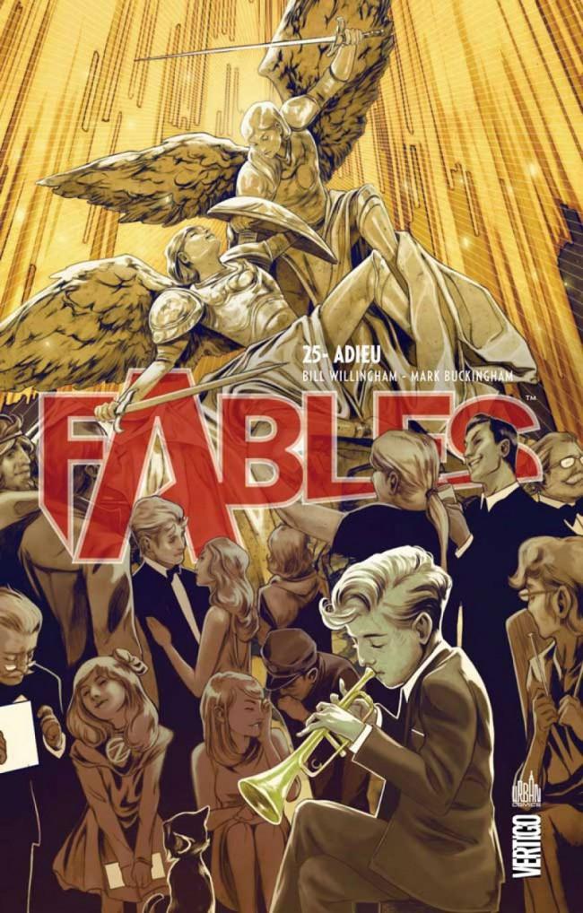 Couverture de Fables (avec couverture souple) -25- Adieu