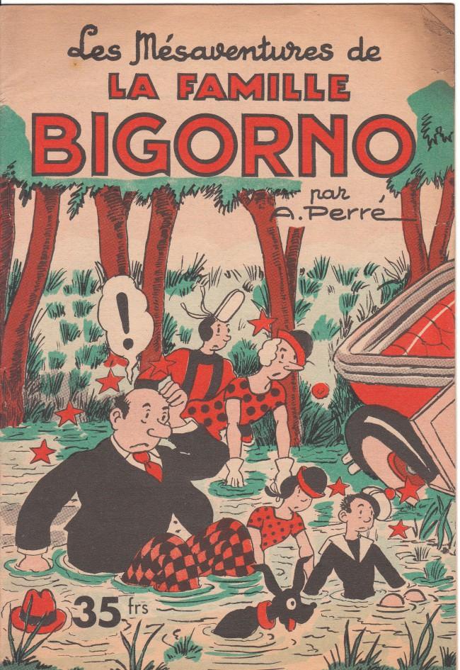 Couverture de La famille Bigorno -14- Les mésaventures de la famille Bigorno