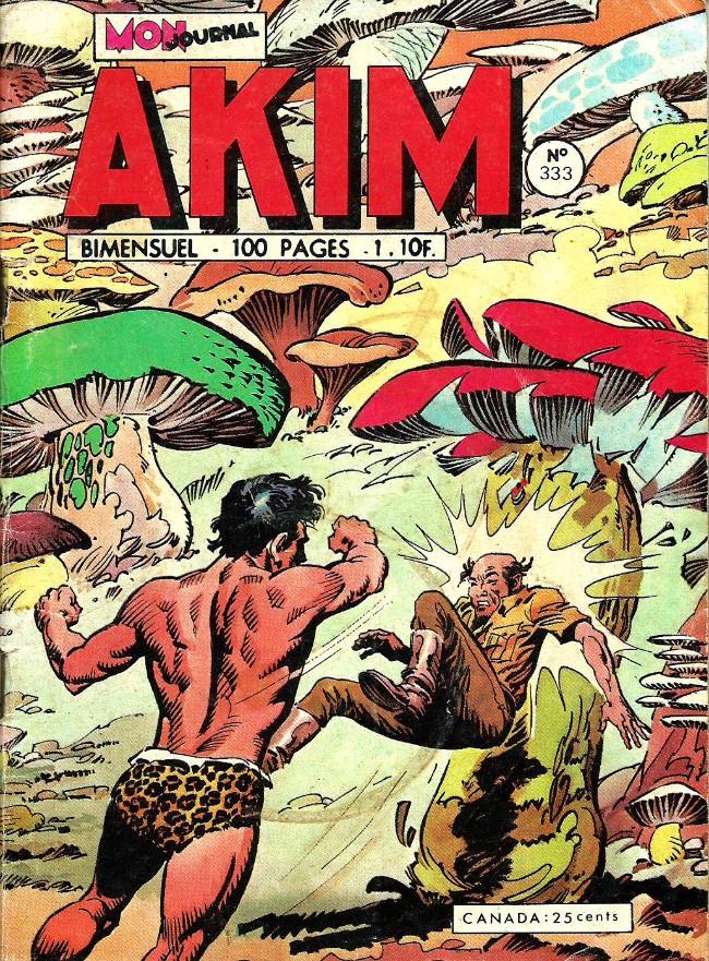 Couverture de Akim (1re série) -333- Un vautour dans les champignons