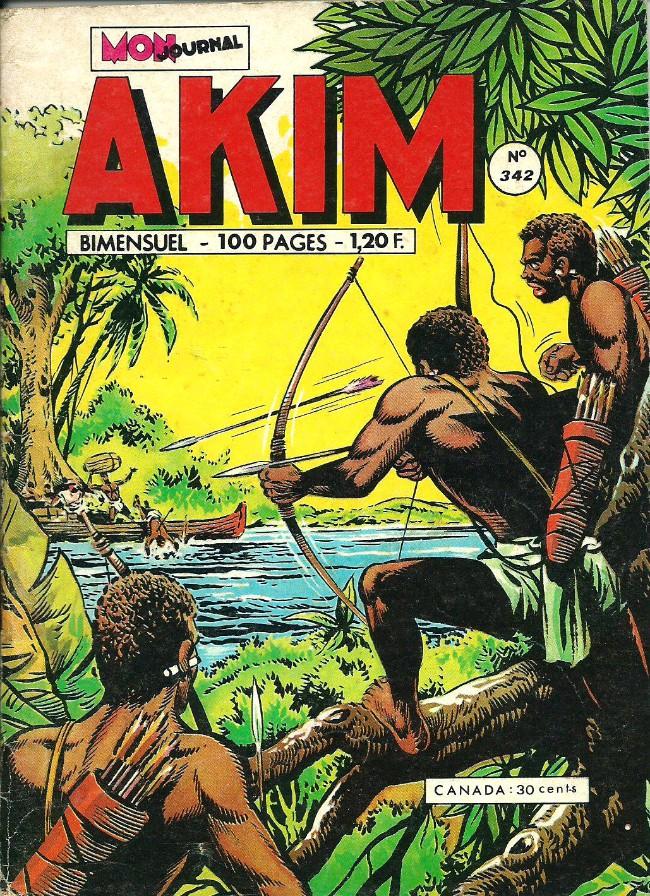 Couverture de Akim (1re série) -342- La roue verte