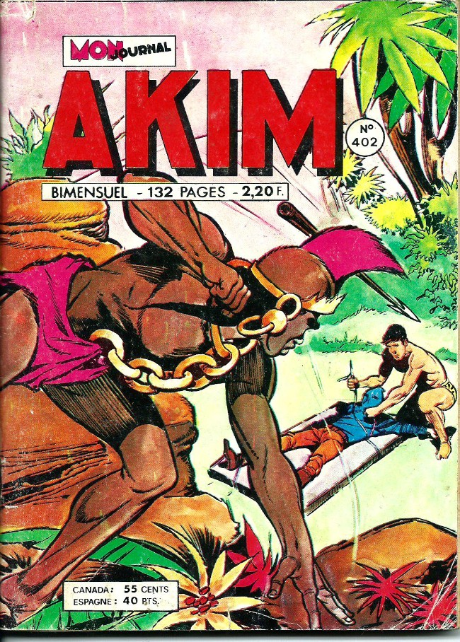 Couverture de Akim (1re série) -402- La pelle mécanique