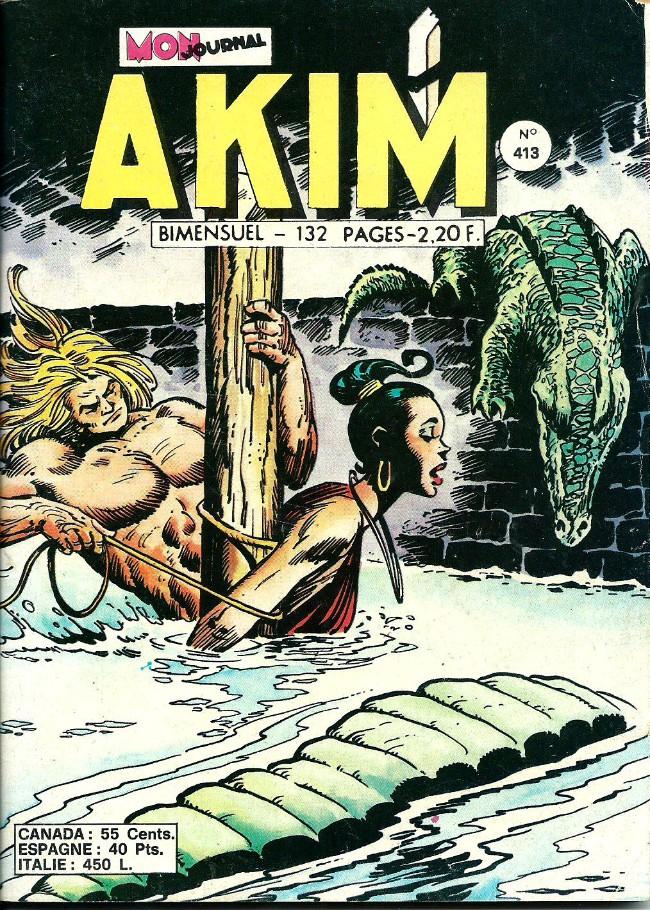 Couverture de Akim (1re série) -413- Cent bananes mûres