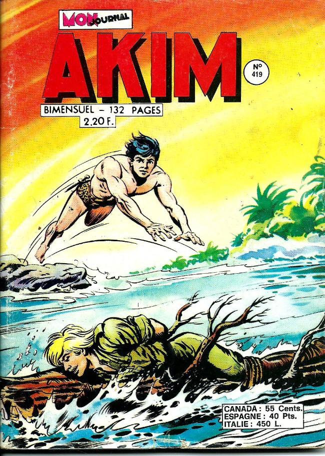 Couverture de Akim (1re série) -419- Les mercenaires