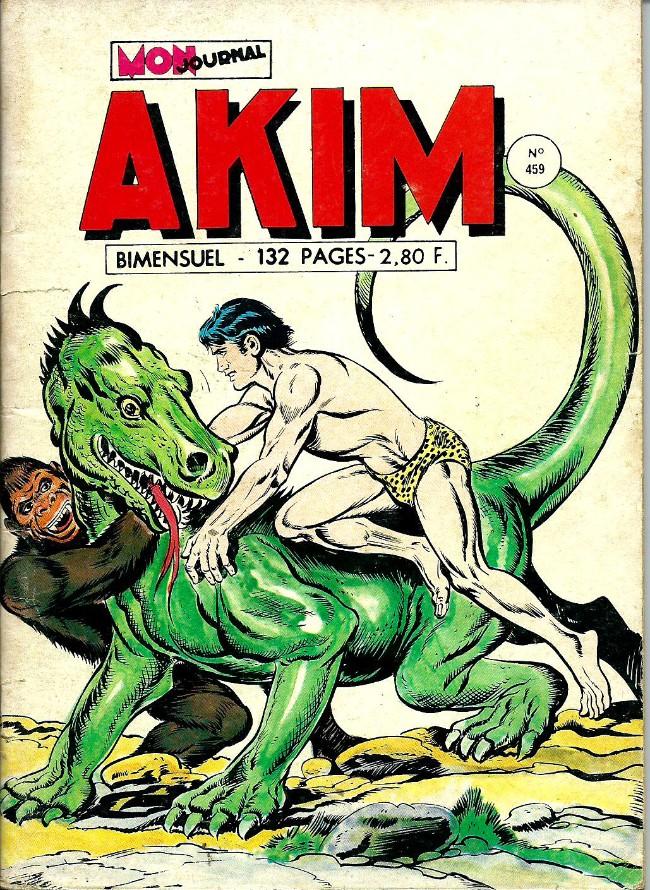 Couverture de Akim (1re série) -459- La terre des iguanes