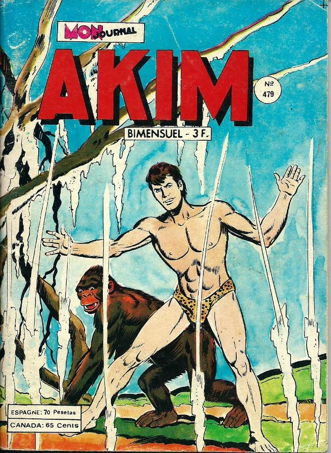 Couverture de Akim (1re série) -479- Le complot des rapaces