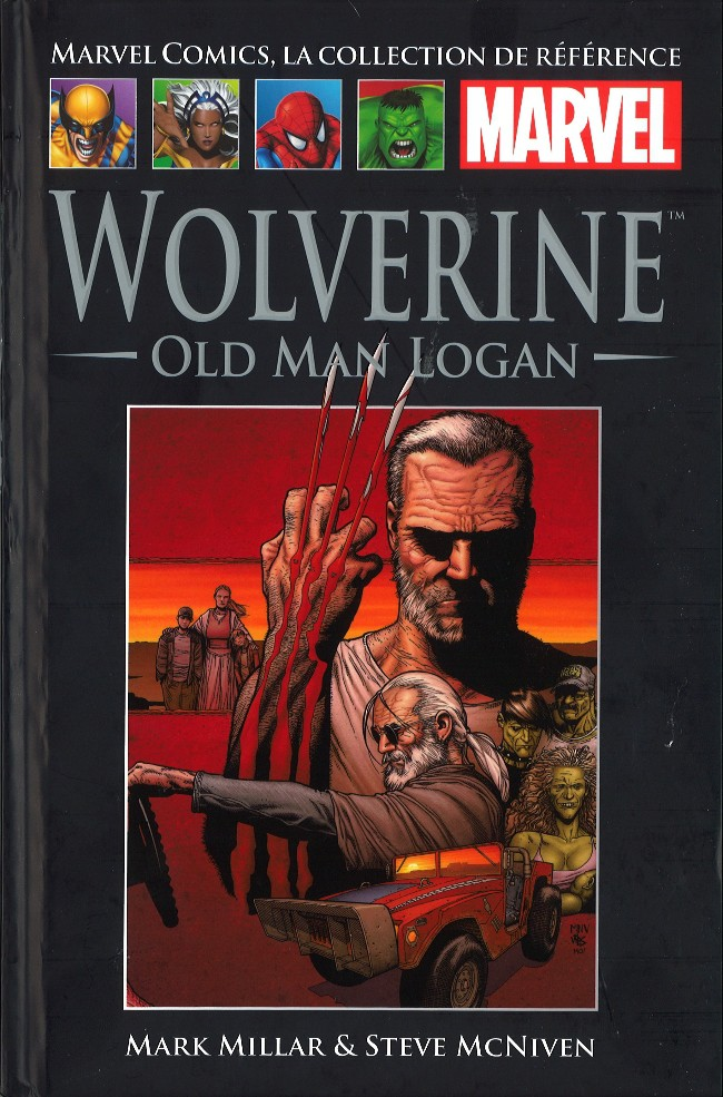 Couverture de Marvel Comics - La collection (Hachette) -4955- Wolverine - Old Man Logan