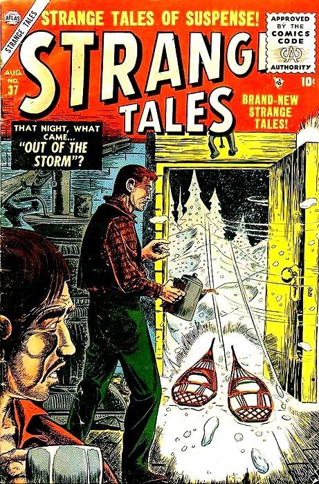 Couverture de Strange Tales (1951) -37- Out of the Storm ?