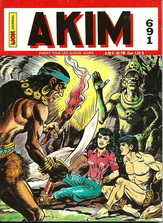 Couverture de Akim (1re série) -691- Les flèches de feu