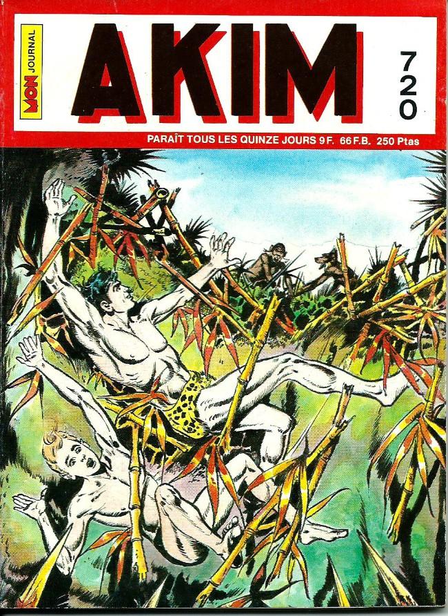 Couverture de Akim (1re série) -720- L'Œil de feu