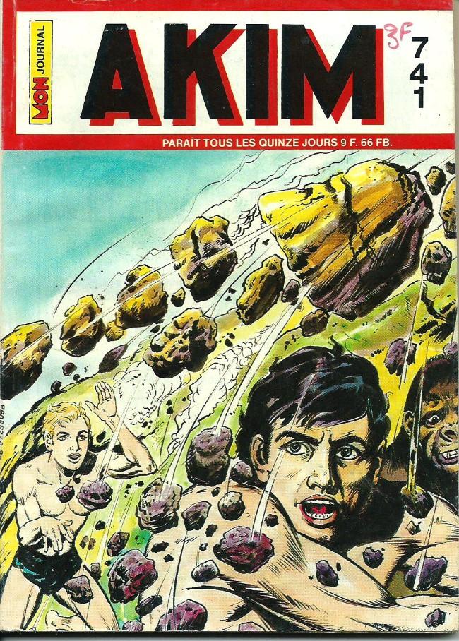Couverture de Akim (1re série) -741- Mourir pour Takrak