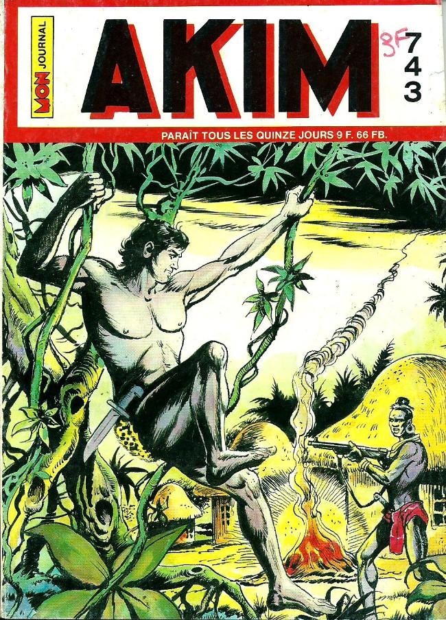 Couverture de Akim (1re série) -743- Pirates des mers du sud