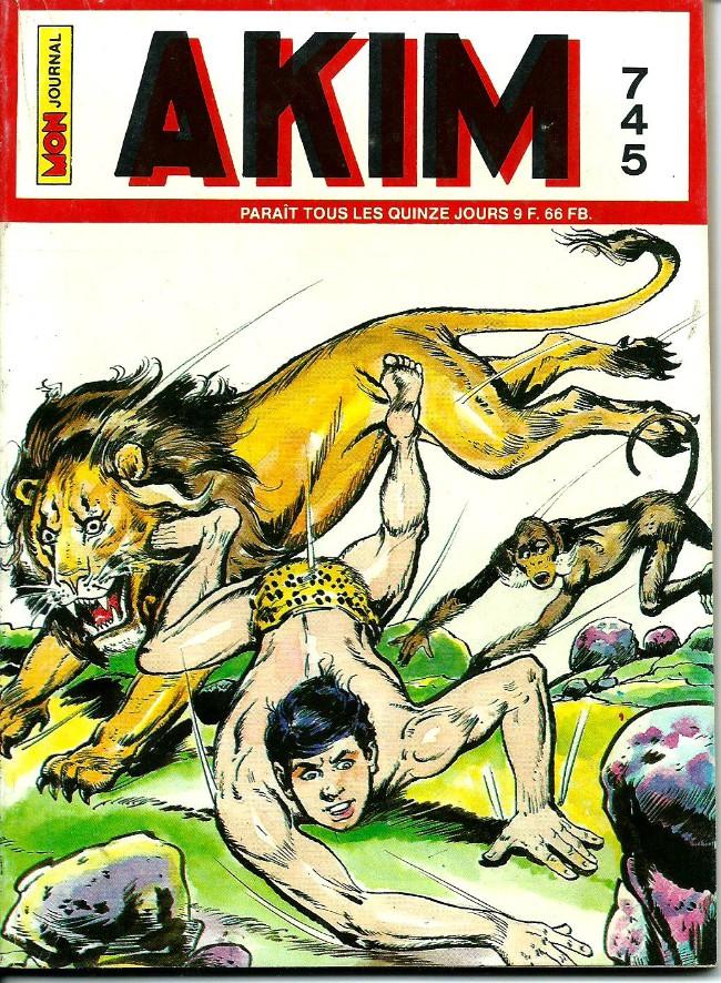 Couverture de Akim (1re série) -745- Graanh le justicier