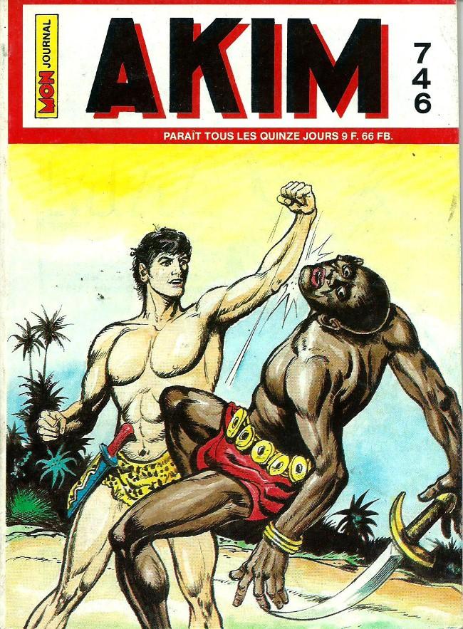 Couverture de Akim (1re série) -746- Le feu éternel