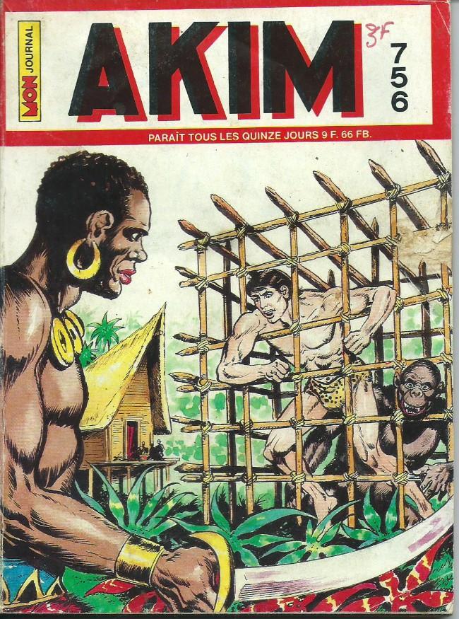 Couverture de Akim (1re série) -756- Le retour de la mygale