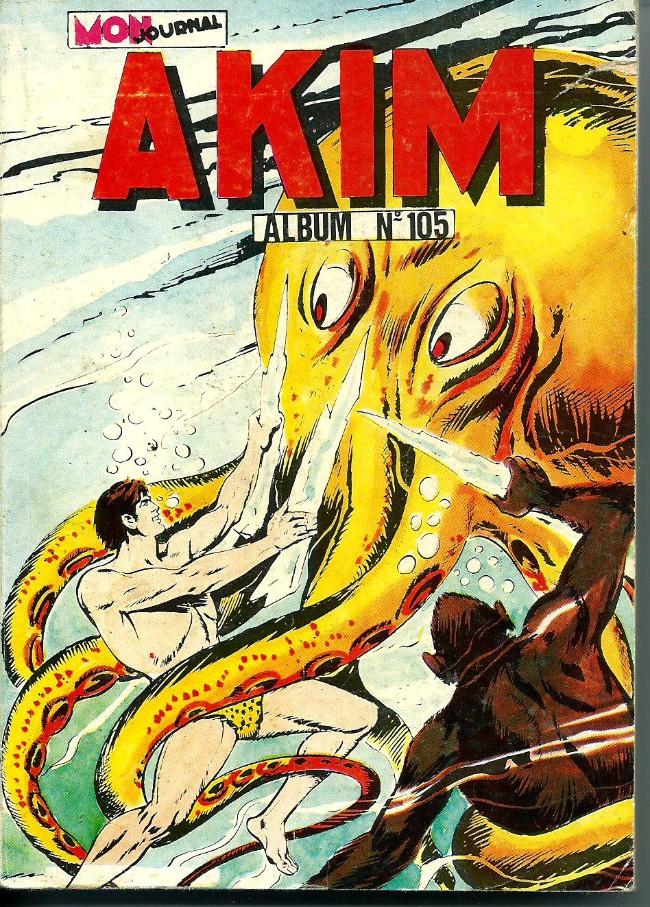 Couverture de Akim (1re série) -Rec105- Album N°105 (du n°541 au n°544)