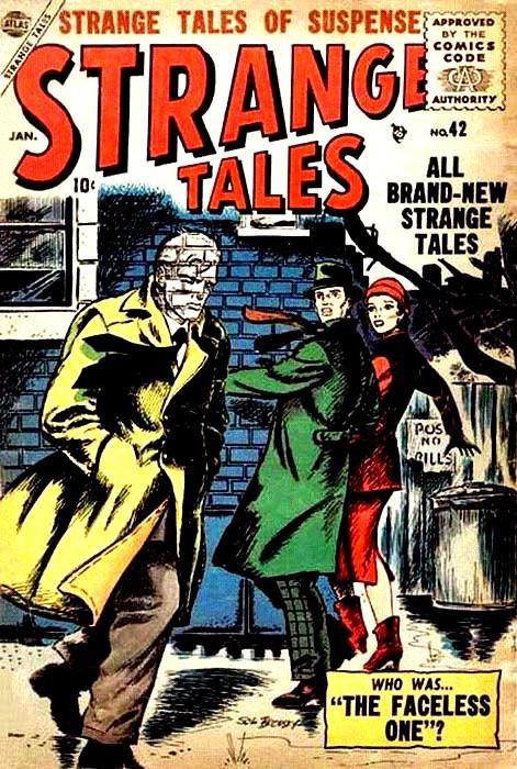 Couverture de Strange Tales (1951) -42- The Faceless One