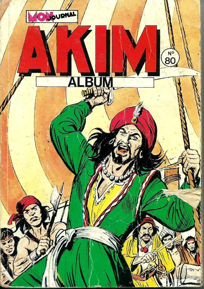 Couverture de Akim (1re série) -Rec080- Album N°80 (du n°441 au n°444)