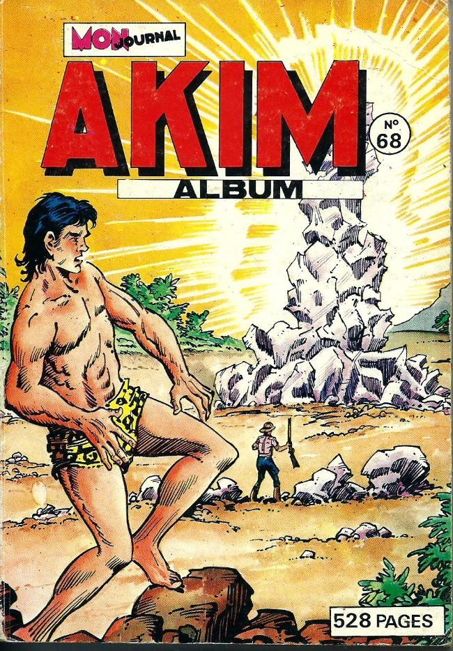 Couverture de Akim (1re série) -Rec068- Album N°68 (du n°393 au n°396)