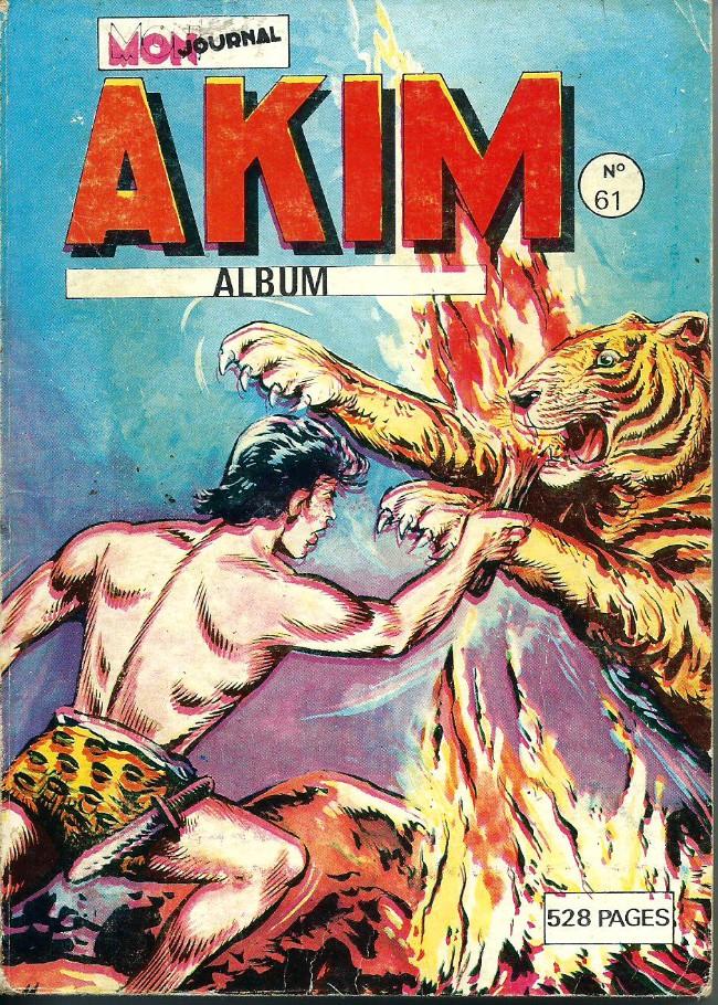 Couverture de Akim (1re série) -Rec061- Album N°61 (du n°365 au n°368)