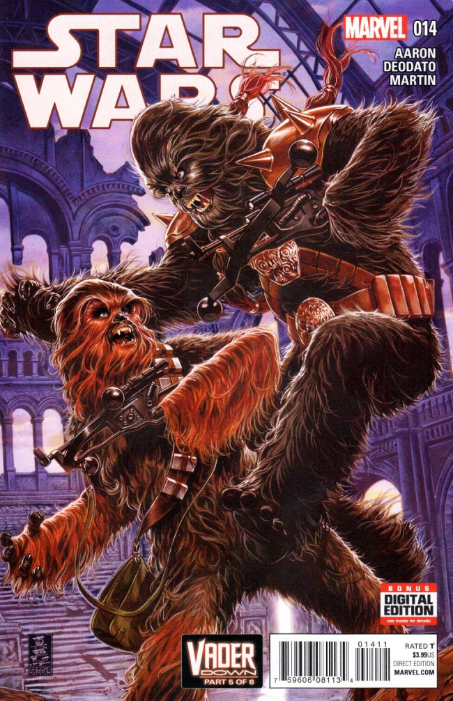 Couverture de Star Wars (2015) -14- Vader Down Part 5 of 6