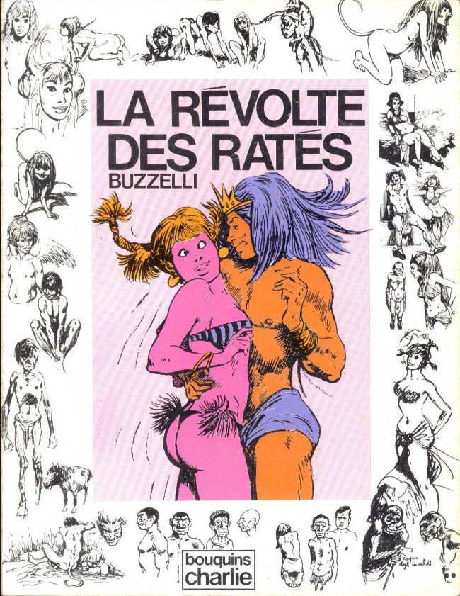Couverture de La révolte des ratés - Tome 1