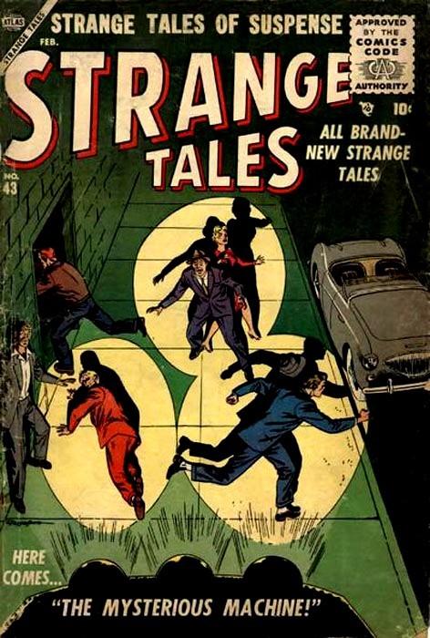 Couverture de Strange Tales (Marvel - 1951) -43- The Mysterious Machine