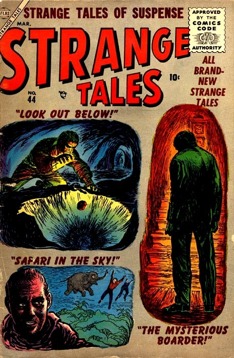 Couverture de Strange Tales (1951) -44- Look Out Below