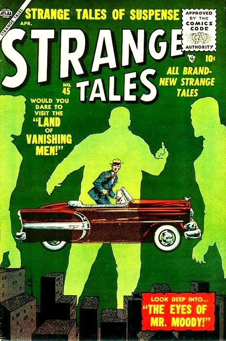 Couverture de Strange Tales (1951) -45- The Eyes of Mr. Moody
