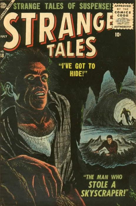 Couverture de Strange Tales (1951) -48- I've Got To Hide
