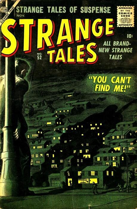 Couverture de Strange Tales (1951) -52- You Can't Find Me!
