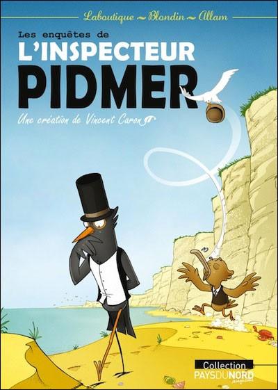 Couverture de Inspecteur Pidmer (Les enquêtes de l') - Les enquêtes de l'inspecteur Pidmer