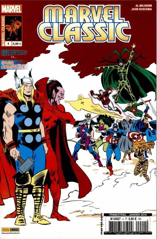 Couverture de Marvel Classic (2e série) -4- La part du diable