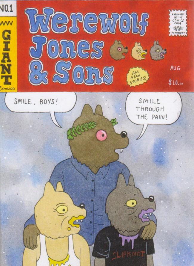 Couverture de Werewolf Jones & Sons (2015) -1- Werewolf Jones & Sons