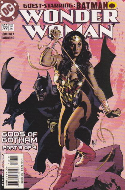 Couverture de Wonder Woman Vol.2 (DC comics - 1987) -166- Gods of Gotham, Part 3: Fear