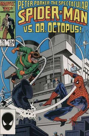 Couverture de Spectacular Spider-Man (The) (1976) -124- When Strikes the Octopus