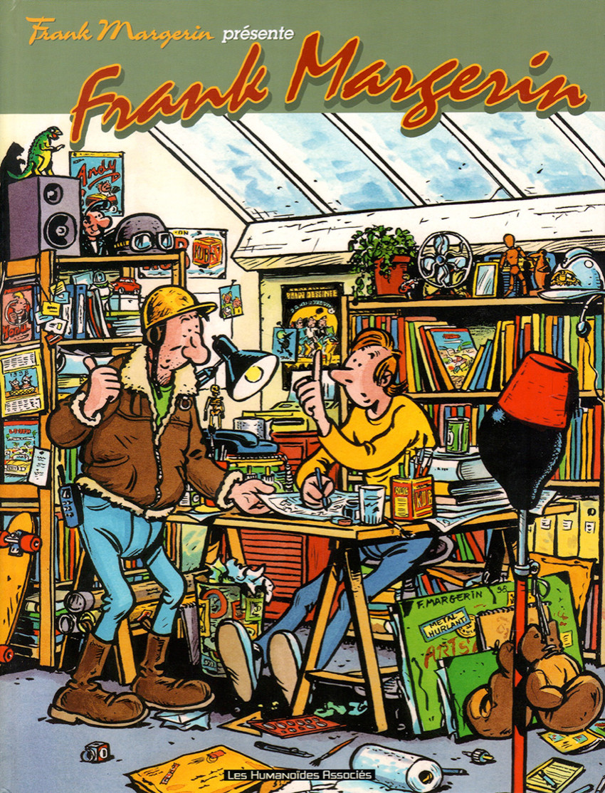 Couverture de Frank Margerin présente -9- Frank Margerin