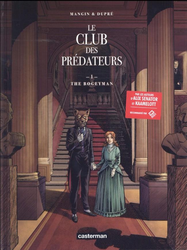 Couverture de Le club des prédateurs -1- The Bogeyman