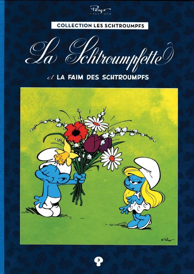 Couverture de Les schtroumpfs - La collection (Hachette) -3- La Schtroumpfette