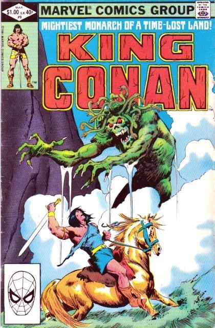 Couverture de King Conan (1980) -9- Bones of the brown man
