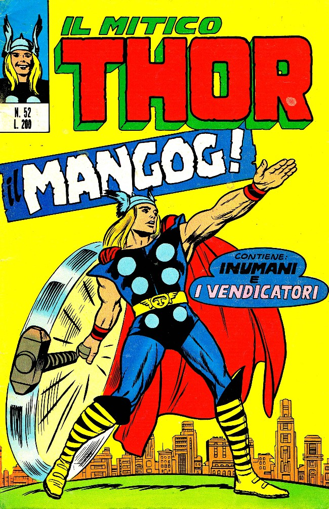 Couverture de MiticoThor (Il) -52- Il Mangog