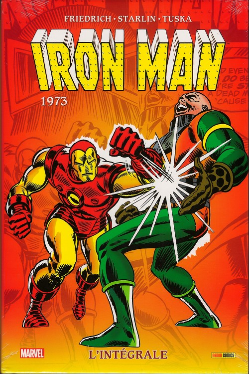 Couverture de Iron Man (L'intégrale) -8- Intégrale 1973