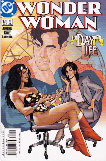 Couverture de Wonder Woman Vol.2 (DC comics - 1987) -170- She's a wonder!