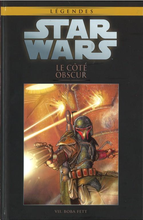 Couverture de Star Wars - Légendes - La Collection (Hachette) -6VII- Le Côté Obscur - VII. Boba Fett