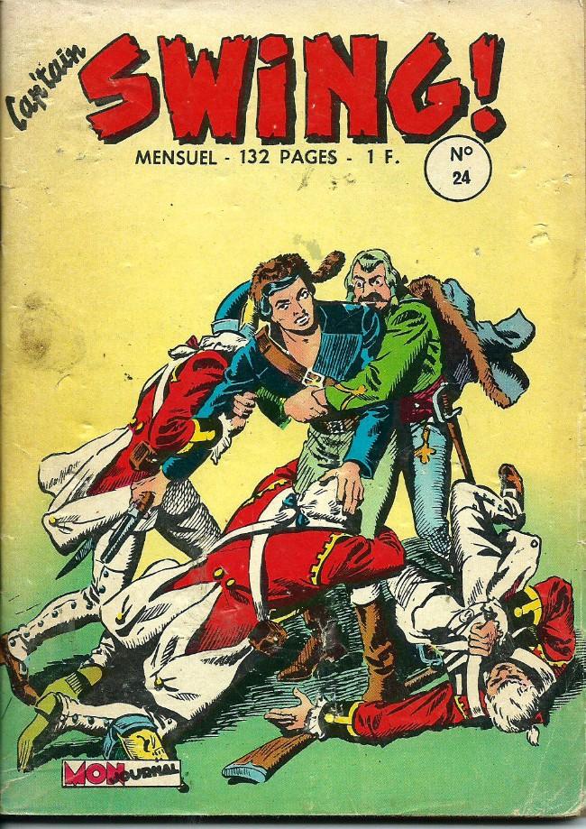 Couverture de Capt'ain Swing! (1re série) -24- Kaï kaï Kaï! Pouik tombe sur un bec!