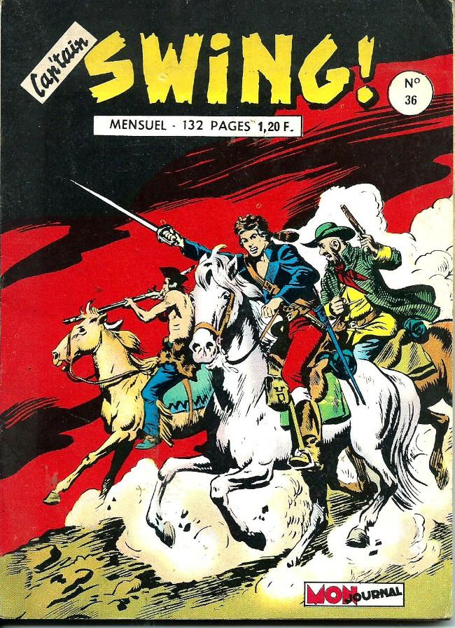 Couverture de Capt'ain Swing! (1re série) -36- Le fer à cheval de la ventouse