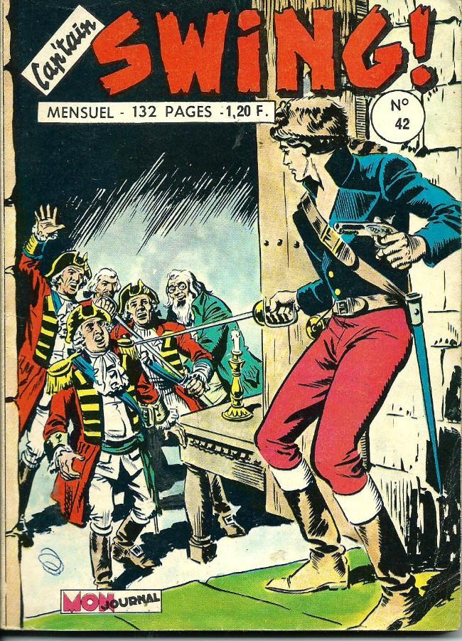 Couverture de Capt'ain Swing! (1re série) -42- Le prisonnier de Tepèque